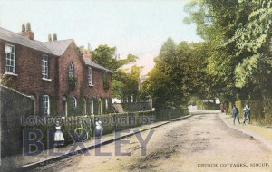 PCD_782 Church Cottages, Sidcup 1916