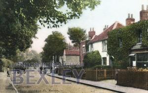 PCD_783 Village. Halfway St, Sidcup c.1915