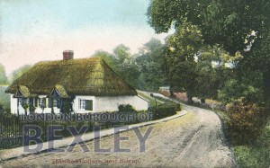 PCD_889 Thatched Cottage, near Sidcup 1904