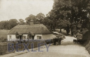 PCD_891 Thatched Cottage, Perry Street 1908