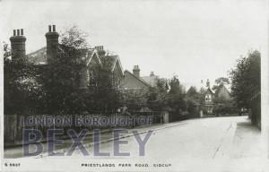 PCD_895 Priestlands Park Road, Sidcup c.1909