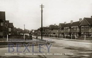 PCD_898 Ramillies Rd., from Sherwood Park Avenue, Sidcup 1930