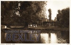 PCD_900 Sidcup, Selborne Pond c.1909