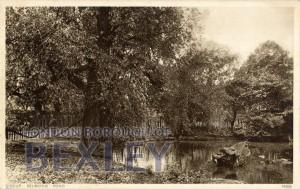 PCD_905 Sidcup, Selborne Pond c.1920