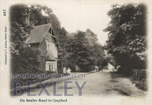 PCD_91 On Bexley Road to Crayford 1905