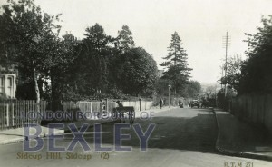 PCD_915 Sidcup Hill, Sidcup 1924