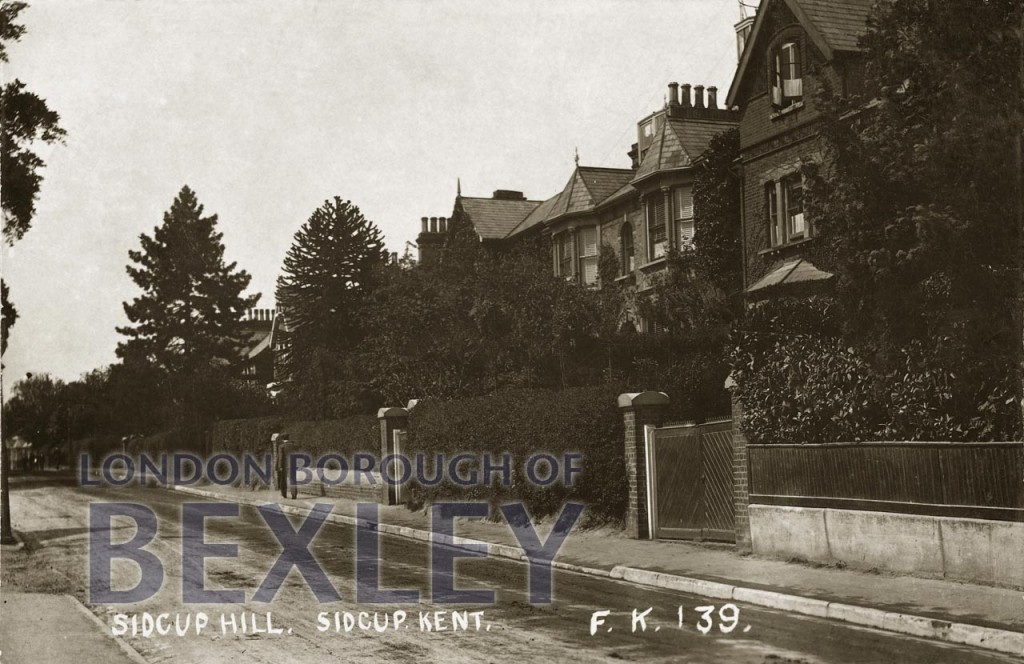 Sidcup Hill, Sidcup, Kent 1916