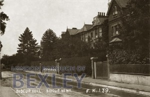 PCD_919 Sidcup Hill, Sidcup, Kent 1916