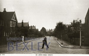 PCD_921 St Johns Road, Sidcup c.1920