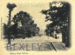 PCD_924 Station Road, Sidcup c.1900