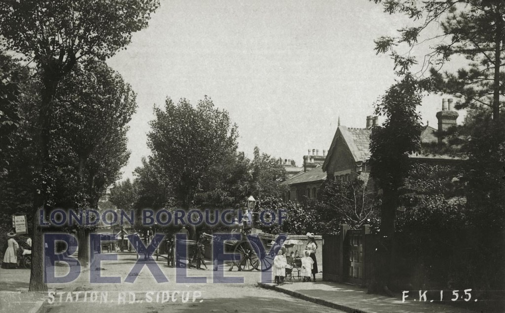 Station Road, Sidcup 1906