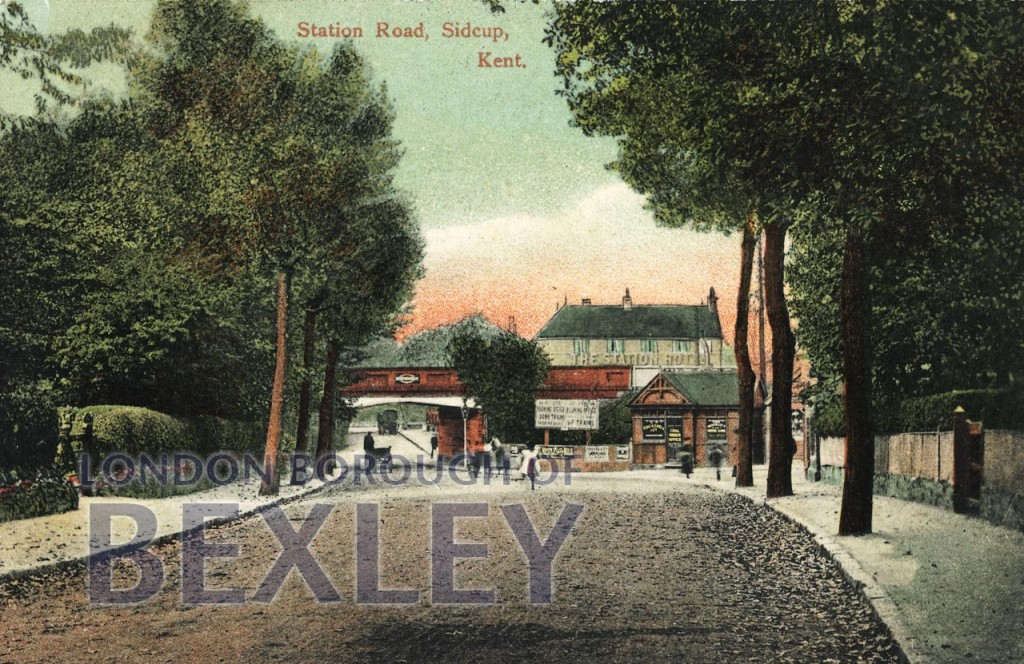 Station Road, Sidcup, Kent 1912