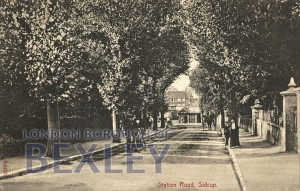 PCD_929 Station Road, Sidcup c.1920