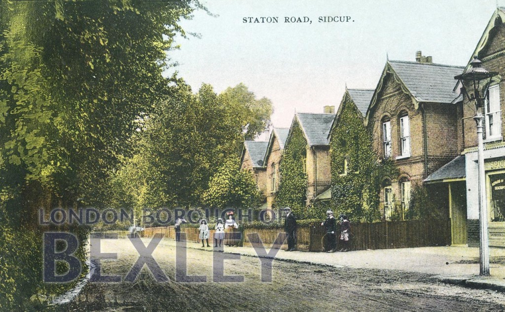 Station Road, Sidcup 1909