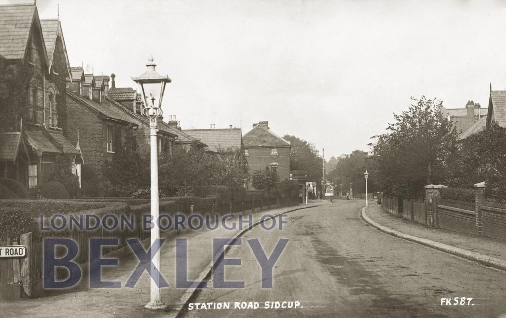 Station Road, Sidcup 1916