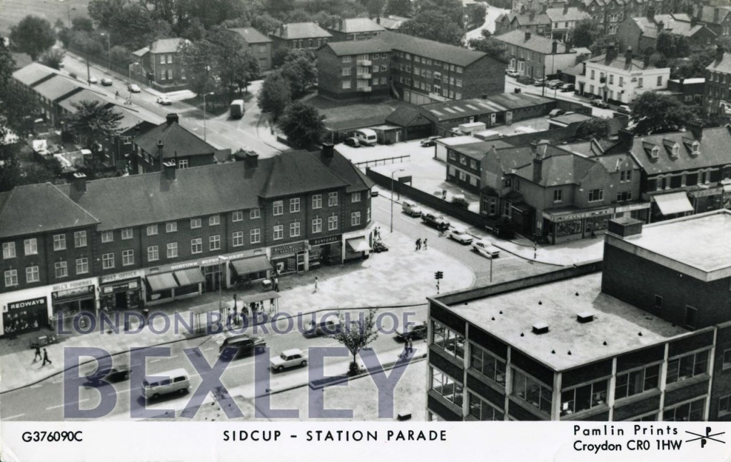 Sidcup – Station Parade c.1980