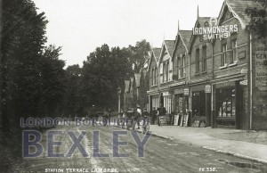 PCD_941 Station Terrace, Lamorby c.1918