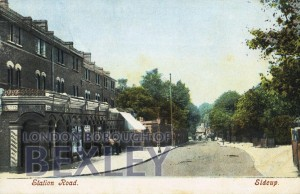 PCD_942 Station Road, Sidcup c.1906