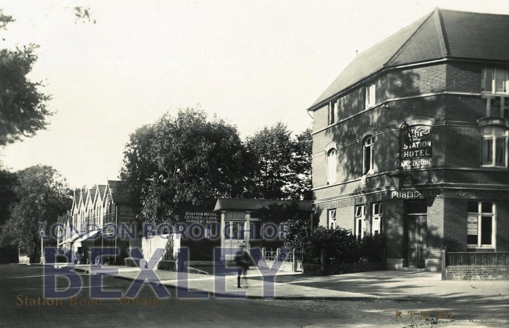 Station Road, Sidcup 1924