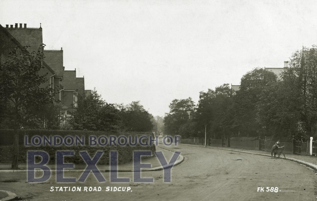 Station Road, Sidcup 1914