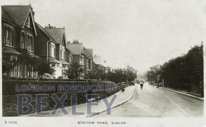 PCD_946 Station Road, Sidcup c.1910