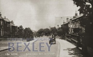 PCD_947 Station Road, Sidcup c.1920