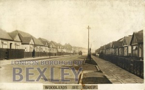 PCD_957 Woodlands Ave, Sidcup c.1935