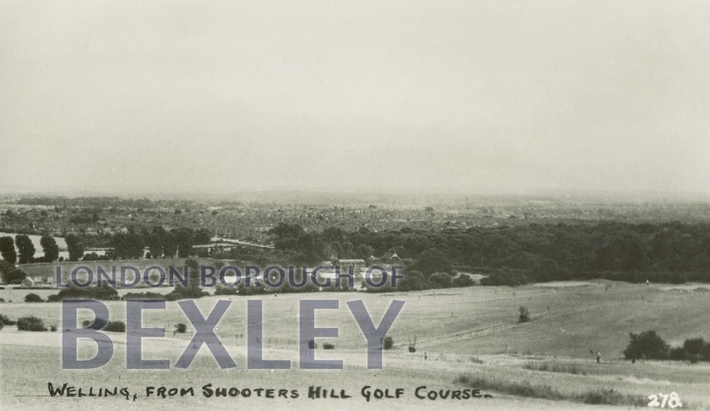 Welling, from Shooters Hill Golf Course c.1930