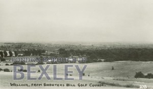 PCD_974 Welling, from Shooters Hill Golf Course c.1930