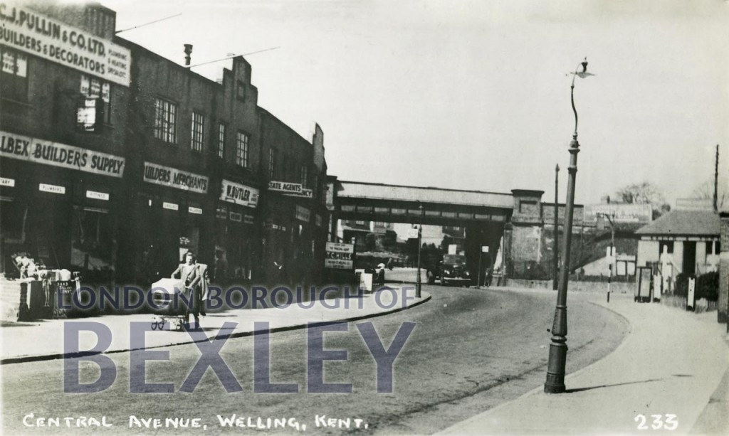 Central Avenue, Welling, Kent c.1952