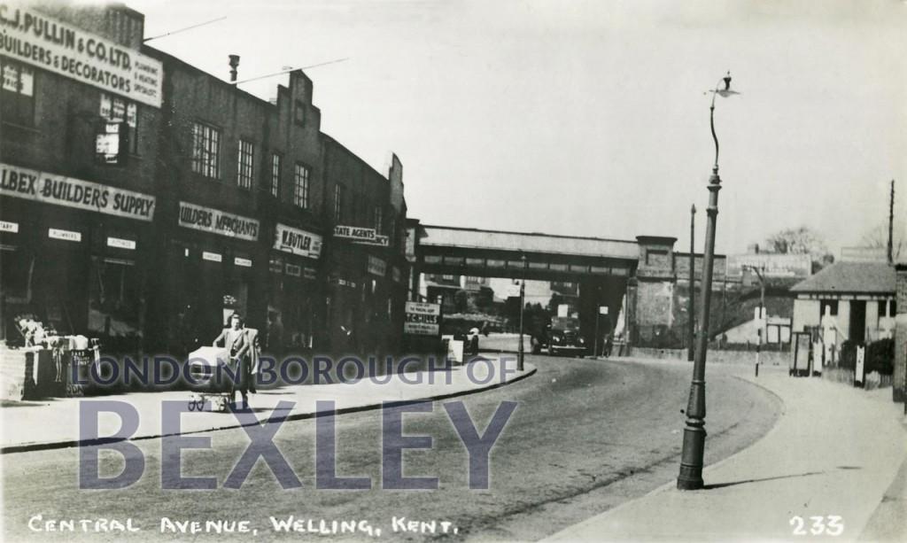 Central Avenue, Welling, Kent c.1952