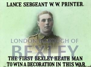 PHBOS_2_1129 Lance Sergeant W.W.Printer, Bexleyheathc1918