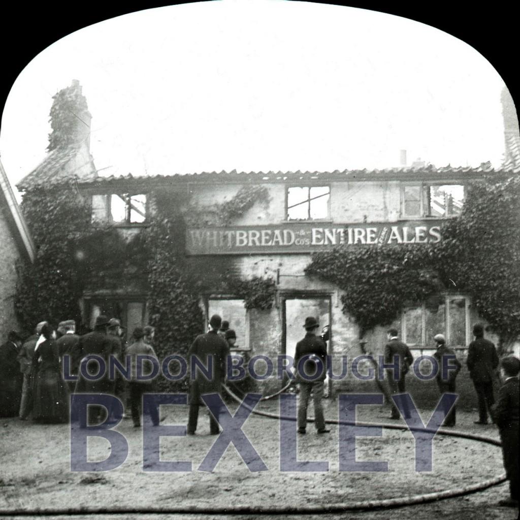 Three Blackbirds, Blendon Road, Blendon. Bexleyc1890