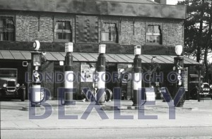 PHBOS_2_497 Petrol pumps, Park View Road, Welling c1910