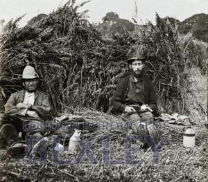 PHBOS_2_550 Farm workers in a hay field, Warren Farm, Bexleyheath c1880