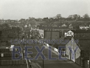 PHBOS_2_552 Crayford from town hall roof 1949