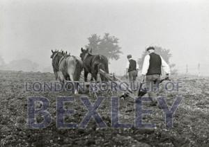 PHBOS_2_581 Ploughing on the Warren, Warren Farm, Bexleyheath1898