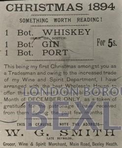 PHBOS_2_618 A handbill, Christmas 1894 1894
