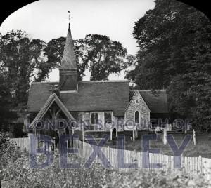 PHBOS_2_622 All Saints Church, Foots Cray Church c1900