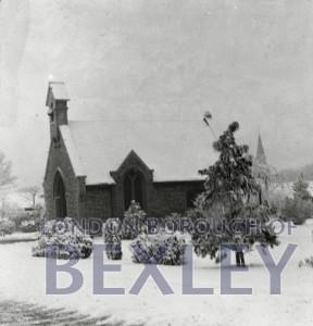 PHBOS_2_627 Chapel, Bexleyheath cemetery c1900
