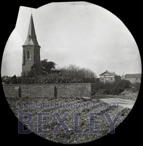PHBOS_2_632 Chapel of Ease Steeple, Oaklands Road, Bexleyheath c1890