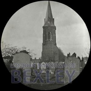 PHBOS_2_634 Chapel of Ease steeple, Oaklands Road, Bexleyheath c1900