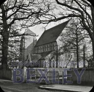 PHBOS_2_671 St John's Church, High Street, Bexley c1900