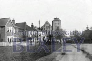 PHBOS_2_677 St John's Church, in Church Road, Sidcup c1920