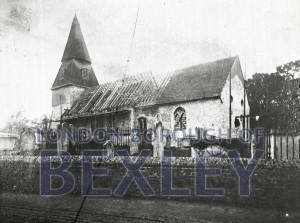 PHBOS_2_686 St Mary's Church, High Street, Bexley c1880