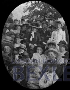 PHBOS_2_726 Group of children in Sunday best c1900