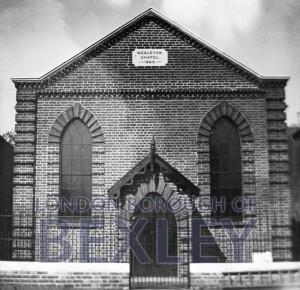PHBOS_2_732 Wesleyan Chapel, North Street, Bexleyheathc1900