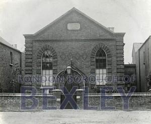 PHBOS_2_734 Wesleyan Chapel, North Street, Bexleyheath1900