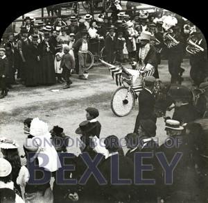 PHBOS_2_784 Gala parade in Market Place, Bexleyheath1898