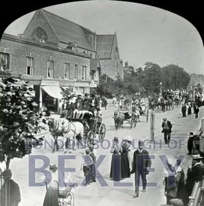 PHBOS_2_791 Bexleyheath Gala parade in Broadway, Bexleyheath1898